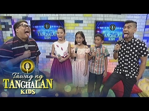 Tawag ng Tanghalan Kids: Vocal exercise with Jugs and Teddy