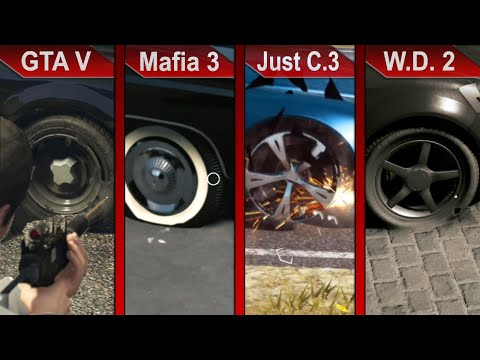 THE BIG COMPARISON | GTA V Vs. Mafia III Vs. Just Cause 3 Vs Watch Dogs 2 | PC | ULTRA
