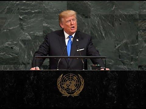 Trump to UN: 'Rocket Man' on a suicide mission