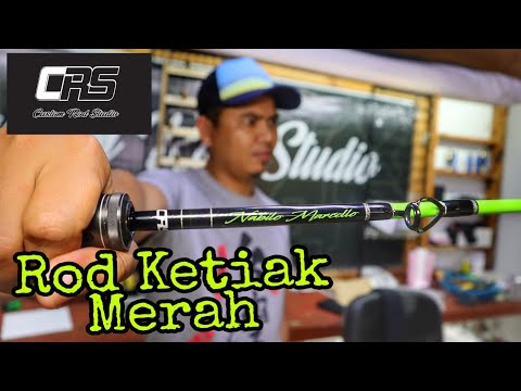 Malaysia No.1 Custom Rod Builder - Custom Rod Studio | CRS