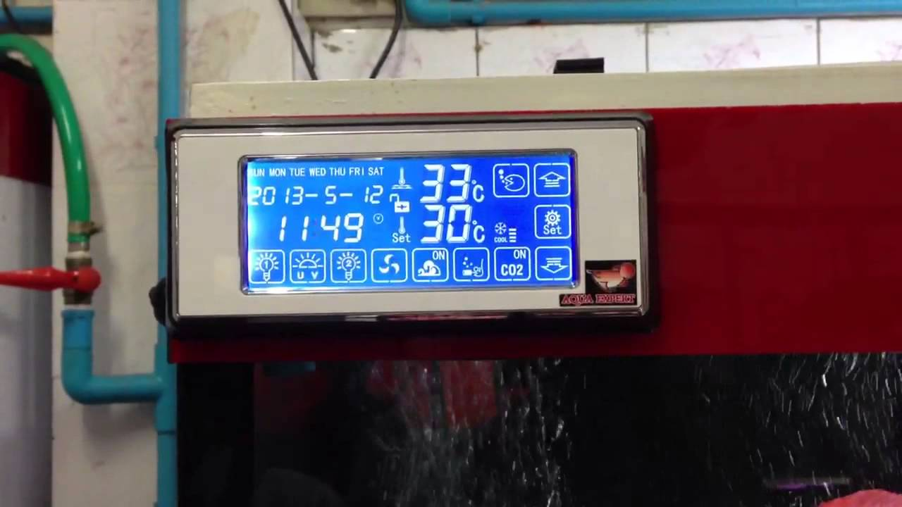 Aquarium Controller Time Setting Youtube How To Wire An Stc1000 Temperature With 2 Heaters Reefing Premium