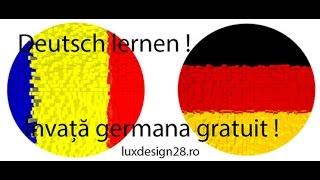Gambar cover Curs audio limba germana verbe litera B invata germana gratuit