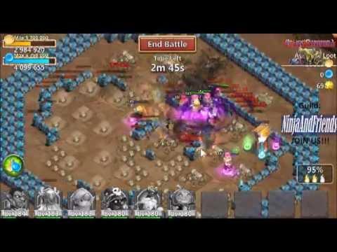 Castle Clash   Farming Insane Dungeon 1   10