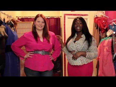 Fashion Styles For Heavier Women Plus Size Fashion Ideas Youtube