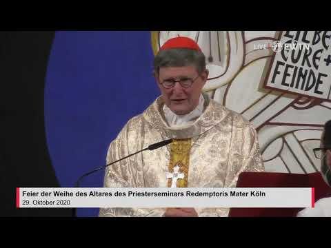 Pontifikalamt mit Kardinal