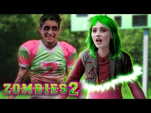 Disney Z-O-M-B-I-E-S 2: Addison turns into a Zombie! Did Zed bite her? 💚💗 Edit!
