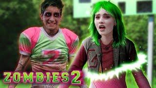 Disney Z O M B I E S 2 Addison turns into a Zombie Did Zed bite her  Edit
