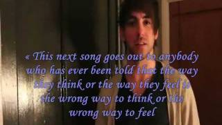 Alex Gaskarth Therapy Speech Compilation,with lyrics