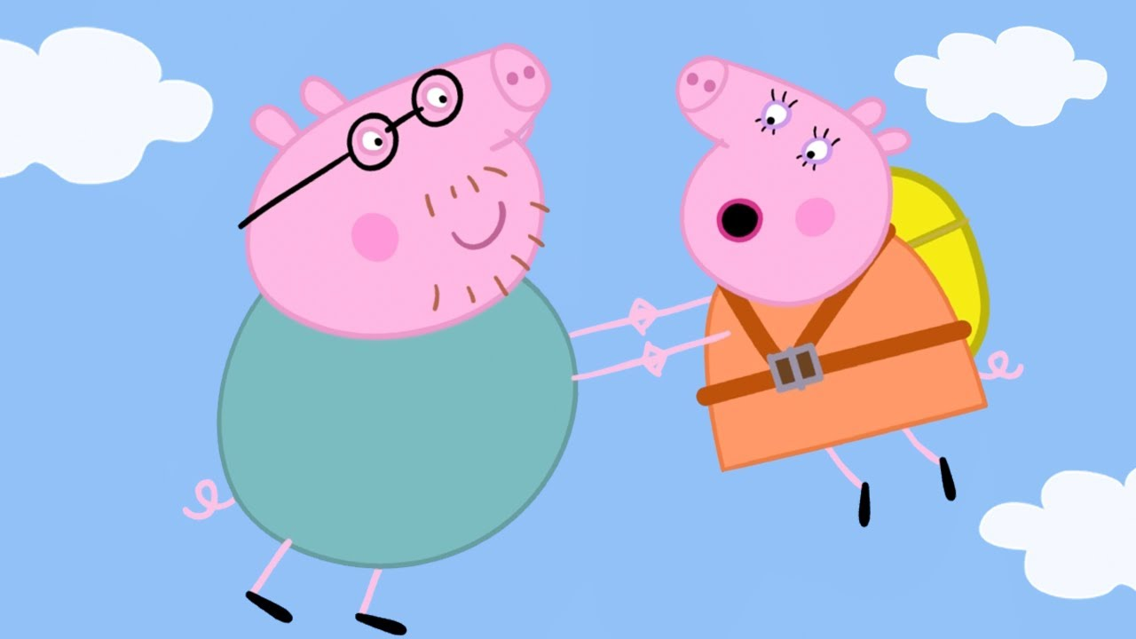 Peppa Pig Official Channel | Parachute Jump | Peppa Pig Episodes