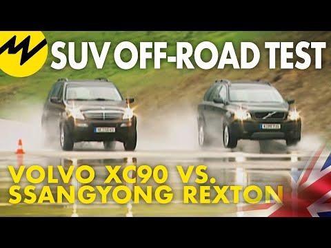 Volvo XC90 vs. Ssangyong Rexton