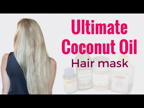 Ultimate Coconut Oil Hair Mask