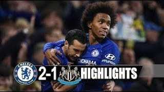 Chelsea vs Newcastle 2-1 -- Ꭺll gоаlѕ & HᎥghlіghtѕ English Commentary  HD 12-1-019