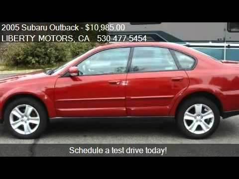 2005 subaru outback 3 0r sedan for sale in grass valley. Black Bedroom Furniture Sets. Home Design Ideas
