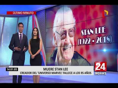 Según portal TMZ,  Stan Lee falleció a los 95 años