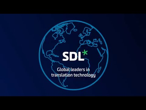 An introduction to SDL's translation software