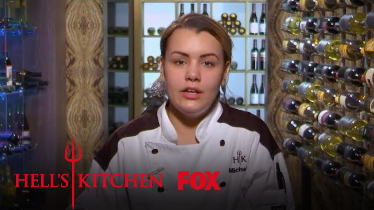 Michelle Nick Forget About The Halibut Sauce Season 17 Ep 13 Hell S Kitchen All Stars
