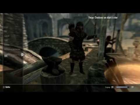 [Skyrim] Tutoriel Nordique : Armure en acier dès le niveau 2