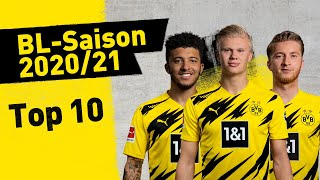 Top 10: Goals oḟ the BL-Season 2020/21