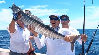 Wahoo Fishing on the Bronx Tale