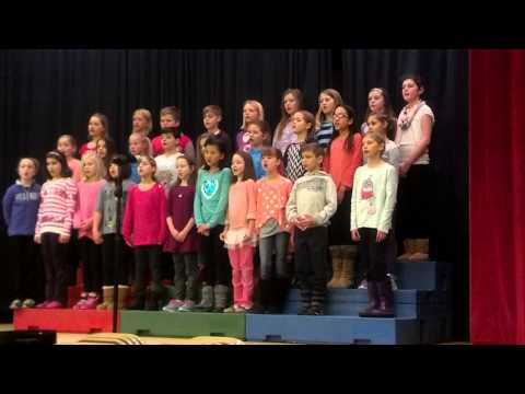 Kindness. 4th grade chorus in April 2014