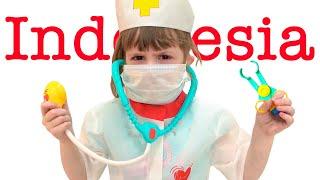 Pura-pura bermain ke dokter untuk anak-anak