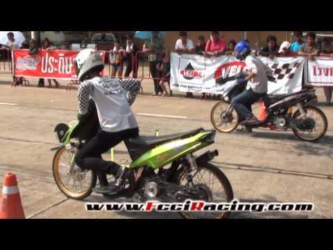 Kandid Drag Racing 2012 สนาม 1 สายพานแว๊น โอเพ่น