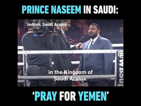 Prince naseem on yemen