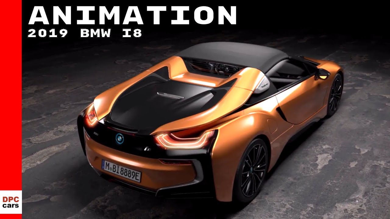 2019 Bmw I8 Roadster New Bmw I8 Coupe Animation Youtube
