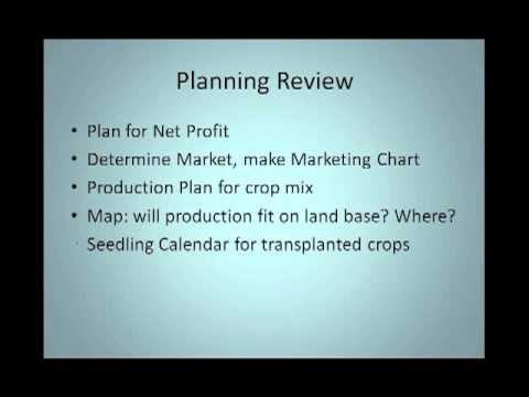 Planning Your Organic Farm for Profit Webinar