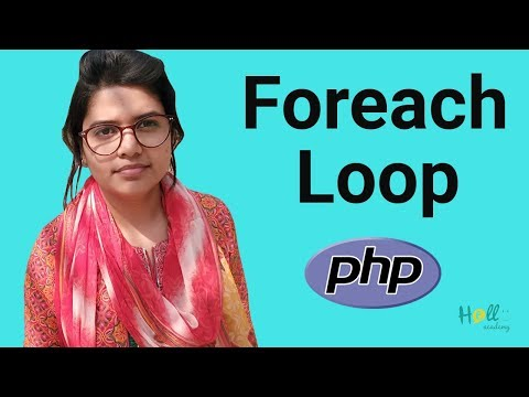 PHP Basic Tutorial Bangla Part 12(foreach Loop)
