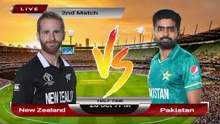 Watch Live cricket Match Today in T20 World Cup Pakistan vs New Zealand Live | Ptv Sports Live