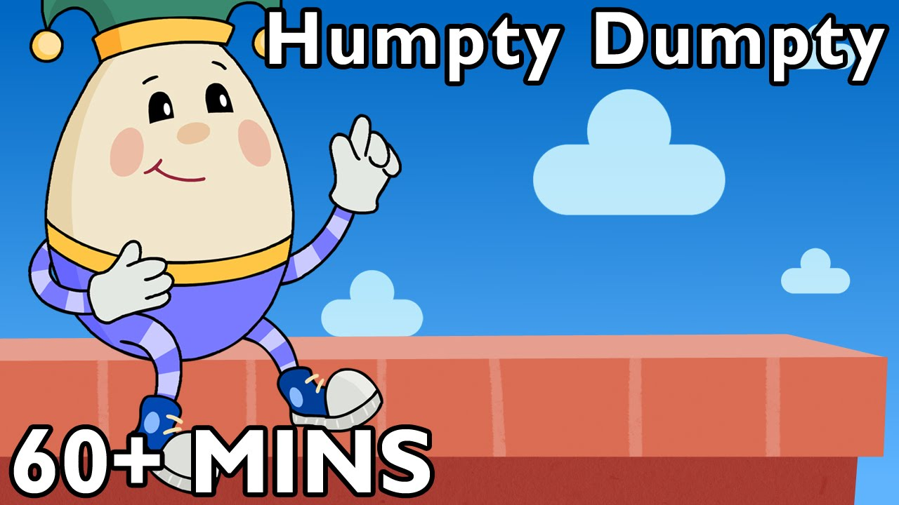 Humpty dumpty coloring page