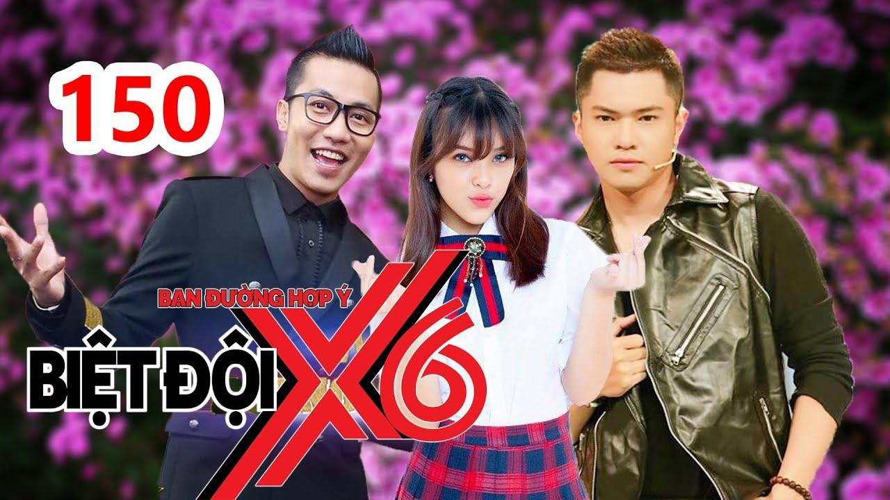 BIỆT ĐỘI X6 | BDX6 #150 | Hoàng Rapper - Bảo Kun lầy lội chặt vịt - Cát Tường hú hồn vì Gina M P336