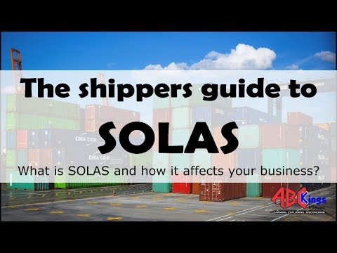 What is SOLAS?