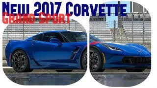 New 2017 Corvette Grand Sport, price for coupe at $66,445, and convertible at $70,445