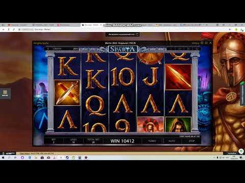 Super Big Win Slot Sparta X1254