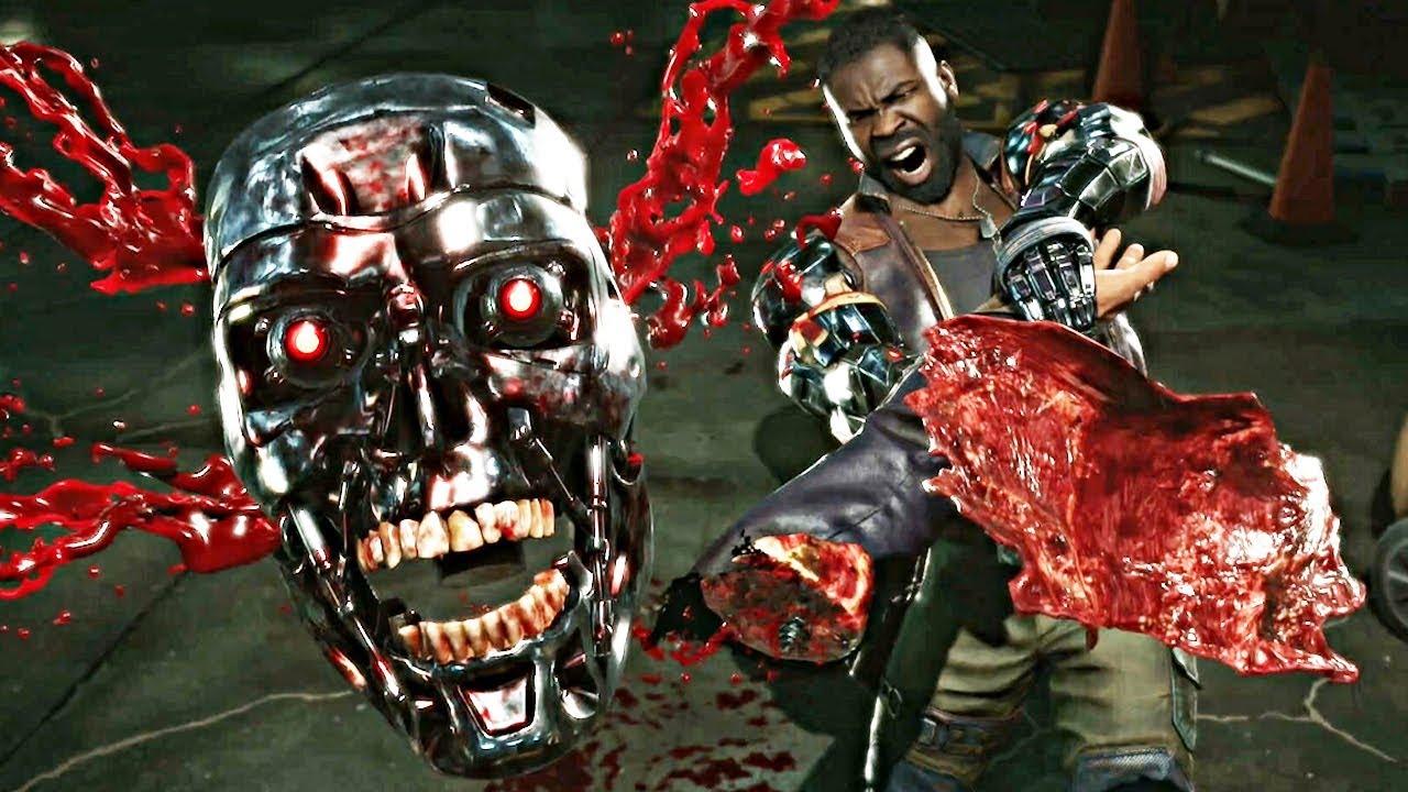 Download Mortal Kombat 11 - ALL Fatalities On Terminator T-800!!