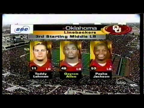 2003 - #1 Oklahoma Sooners at Texas Tech - I