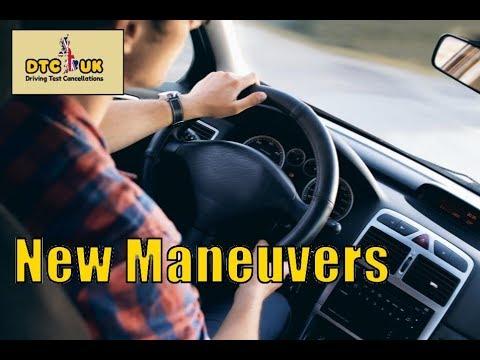 New Driving Test Maneuvers | DTC UK | Driving Test UK