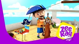 Pop Up Pirate Ship! | Zack & Quack | ZeeKay Junior