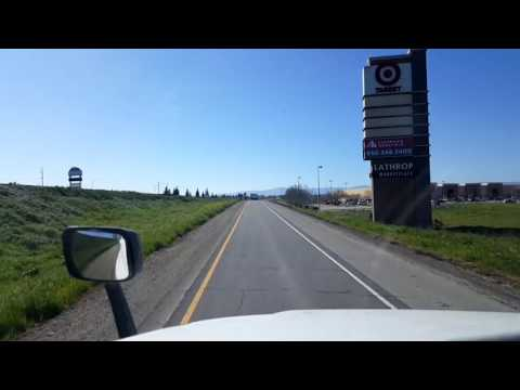 Bigrigtravels Live! - Lathrop to Avenal, California - Interstate 5 South - March 1, 2017