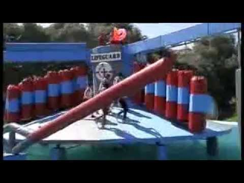 Peter Duncan in Celebrity Total Wipeout