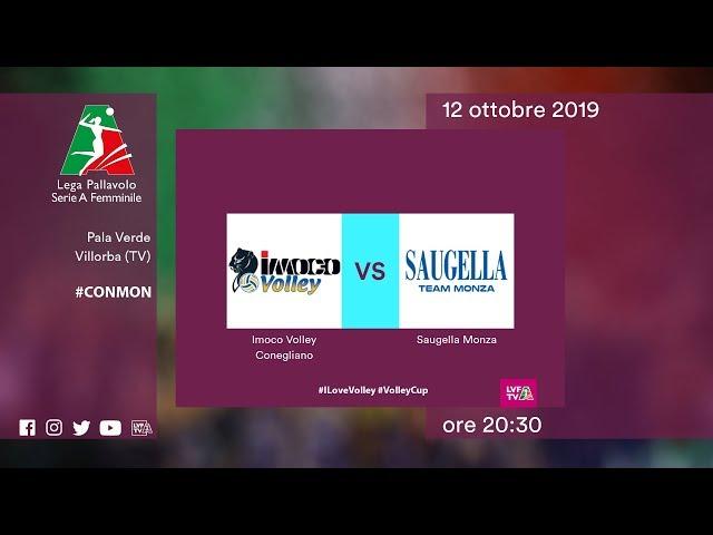 Conegliano - Monza | Speciale | 1^ Giornata | Lega Volley Femminile 2019/20