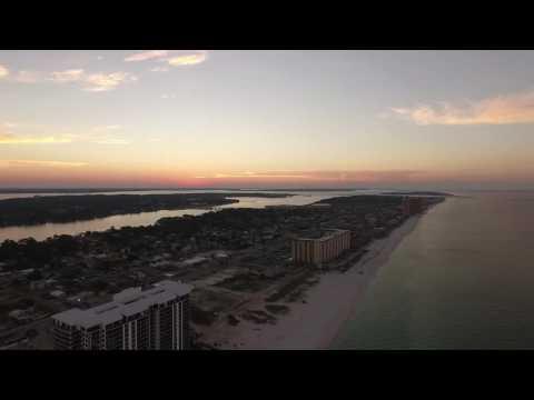 *Disclaimer...LONG CLIP - Drone Flight Panama City Beach, FL
