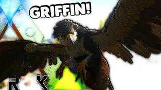 ARK Survival Evolved - NEW GRIFFIN UPDATE, SPECIAL ATTACKS & DAMAGE + RAGNAROK MAP E3 ( Gameplay )