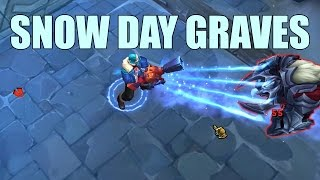 LoL Snow Day Graves Skin Spotlight