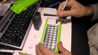 видео Выбираем светильник аварийного освещения светодиодный с аккумулятором