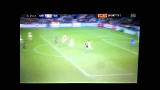هدف برشلونة الثاني في مرمى أياكس - ميسي
