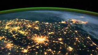 ถ่ายโลกจากอวกาศสถานีอวกาศนานาชาติ
