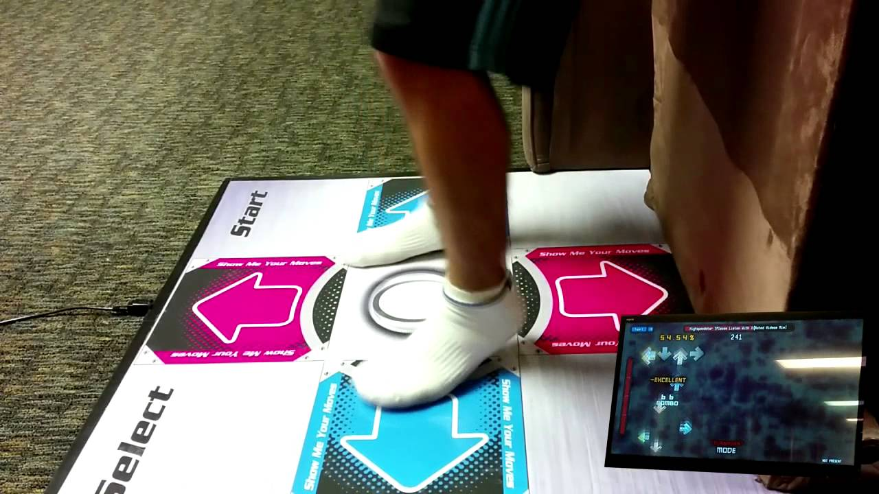 240 Bpm 16 Footer On The Omega Gx Dance Pad Youtube